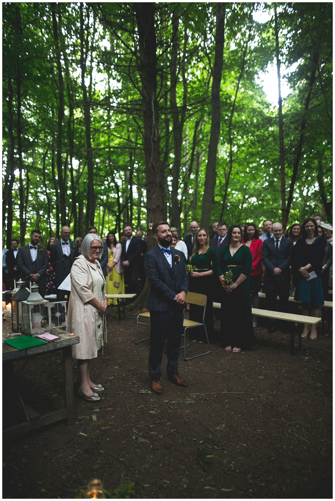 Killyon Manor Woodland Wedding Meath
