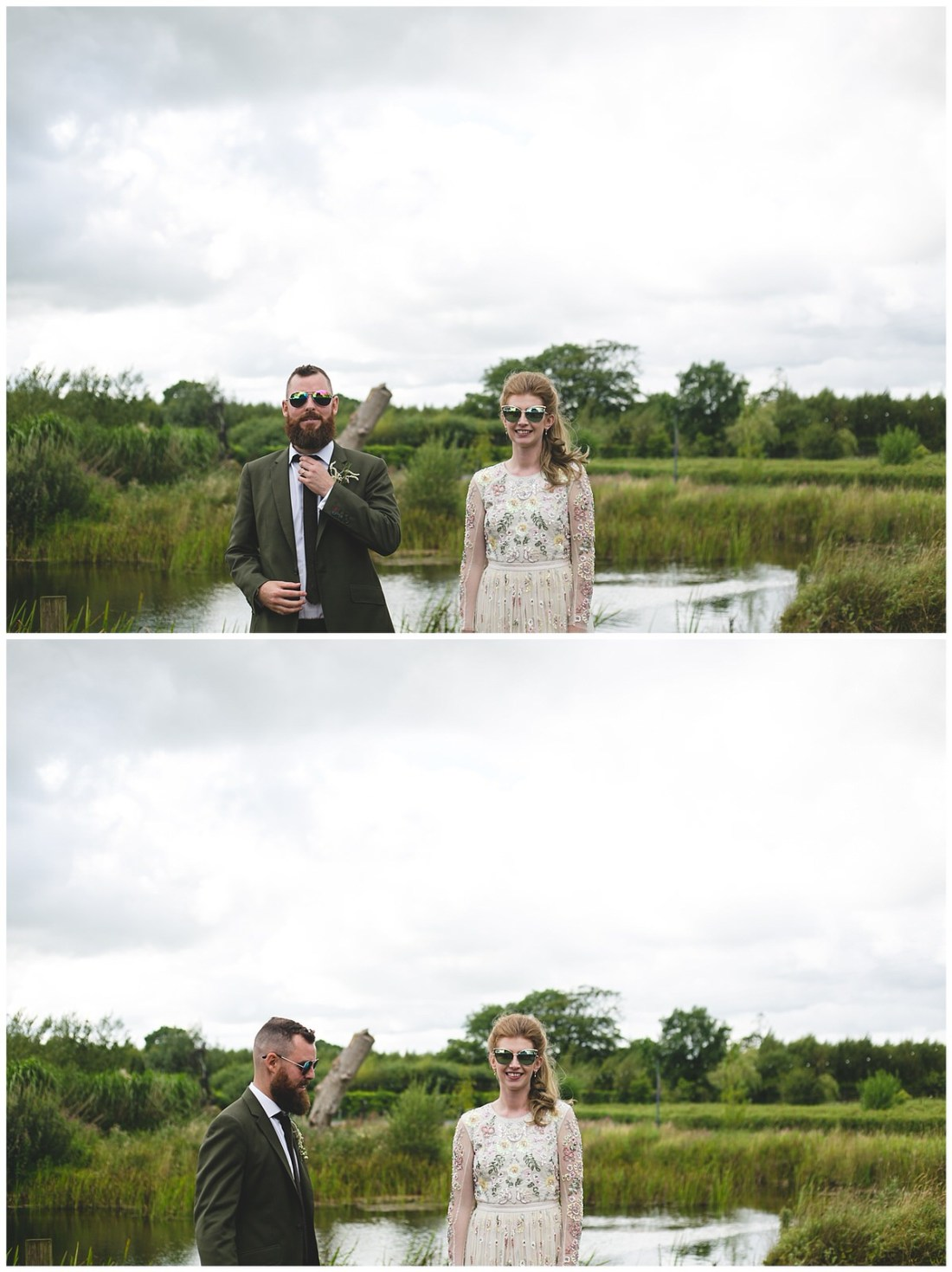 Wild things wed photography - Lakeside portrait