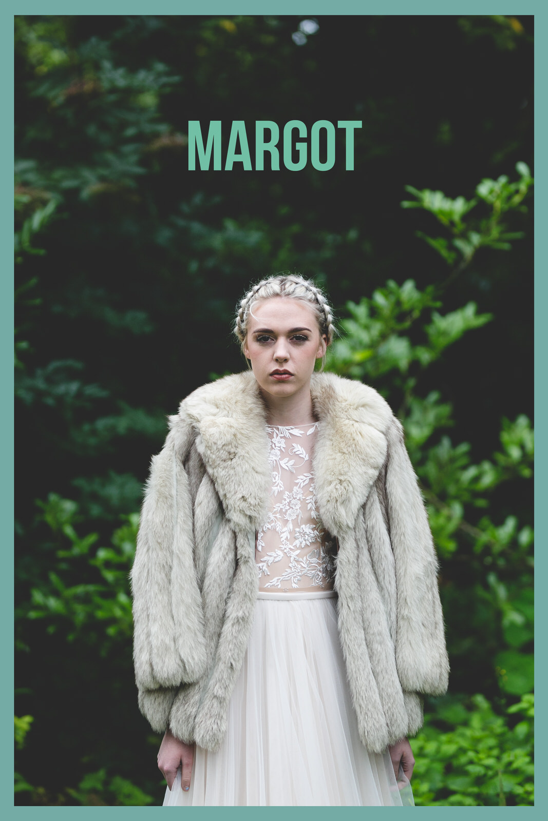 Margot styled bride from the royal tenenbaums
