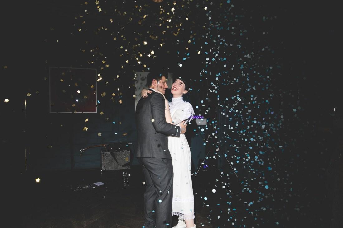 first dance Confetti canon