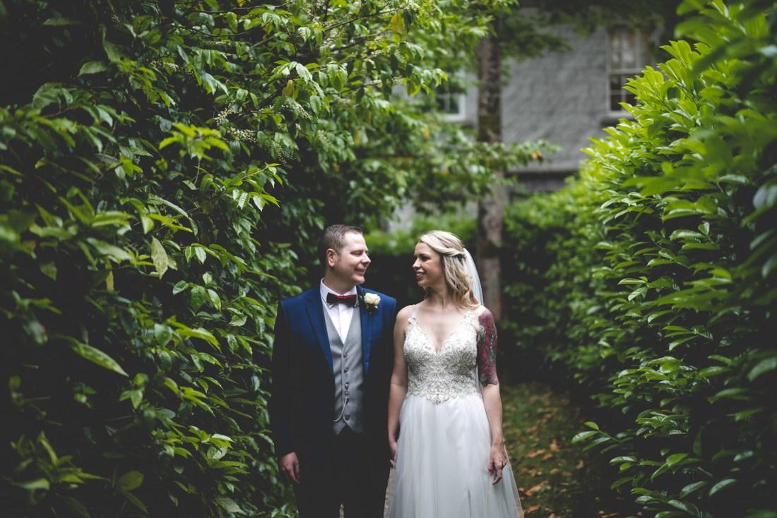 Palmerstown House wedding