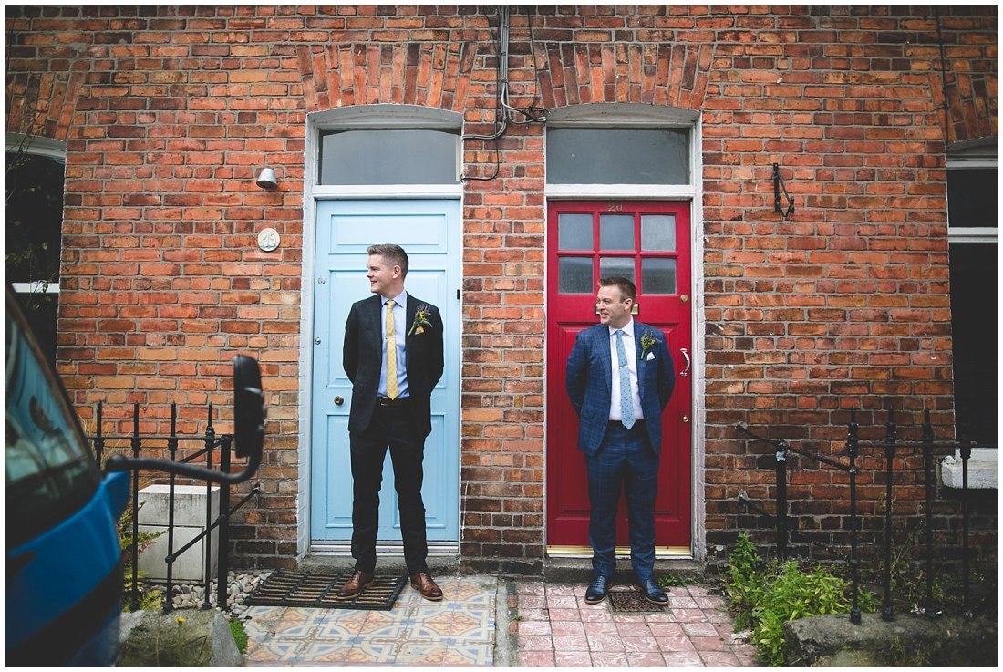 Colourful Dublin City Doors