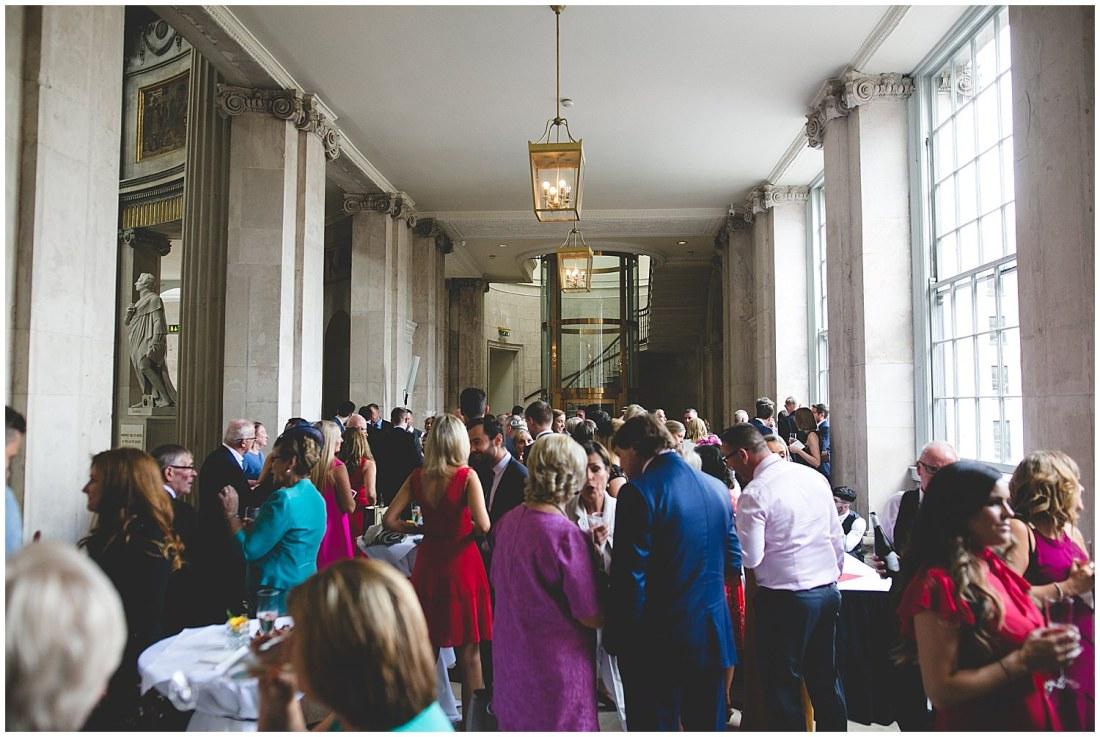 Drinks reception Dublin City Hall