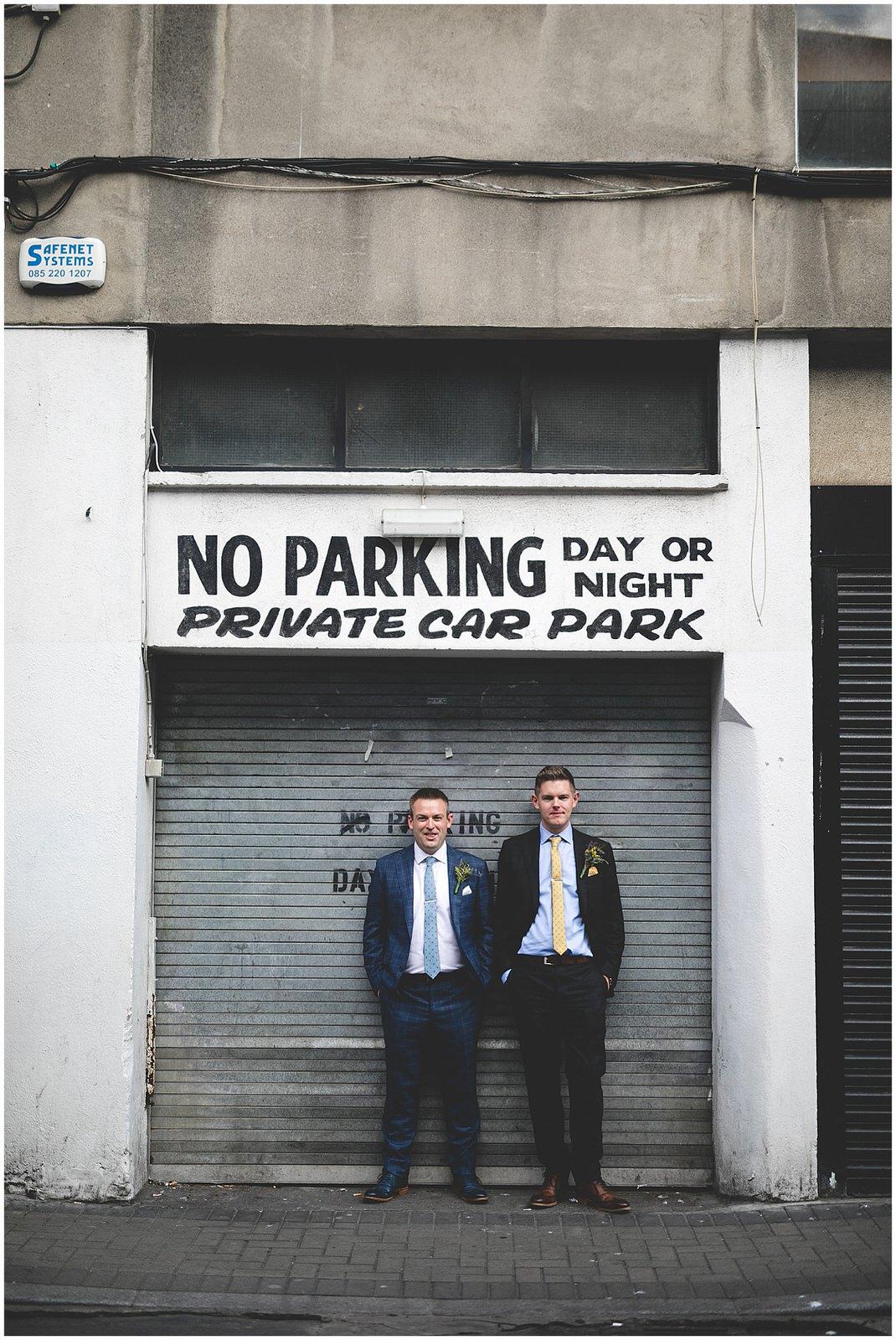 Drury Street 'No Parking day or night'