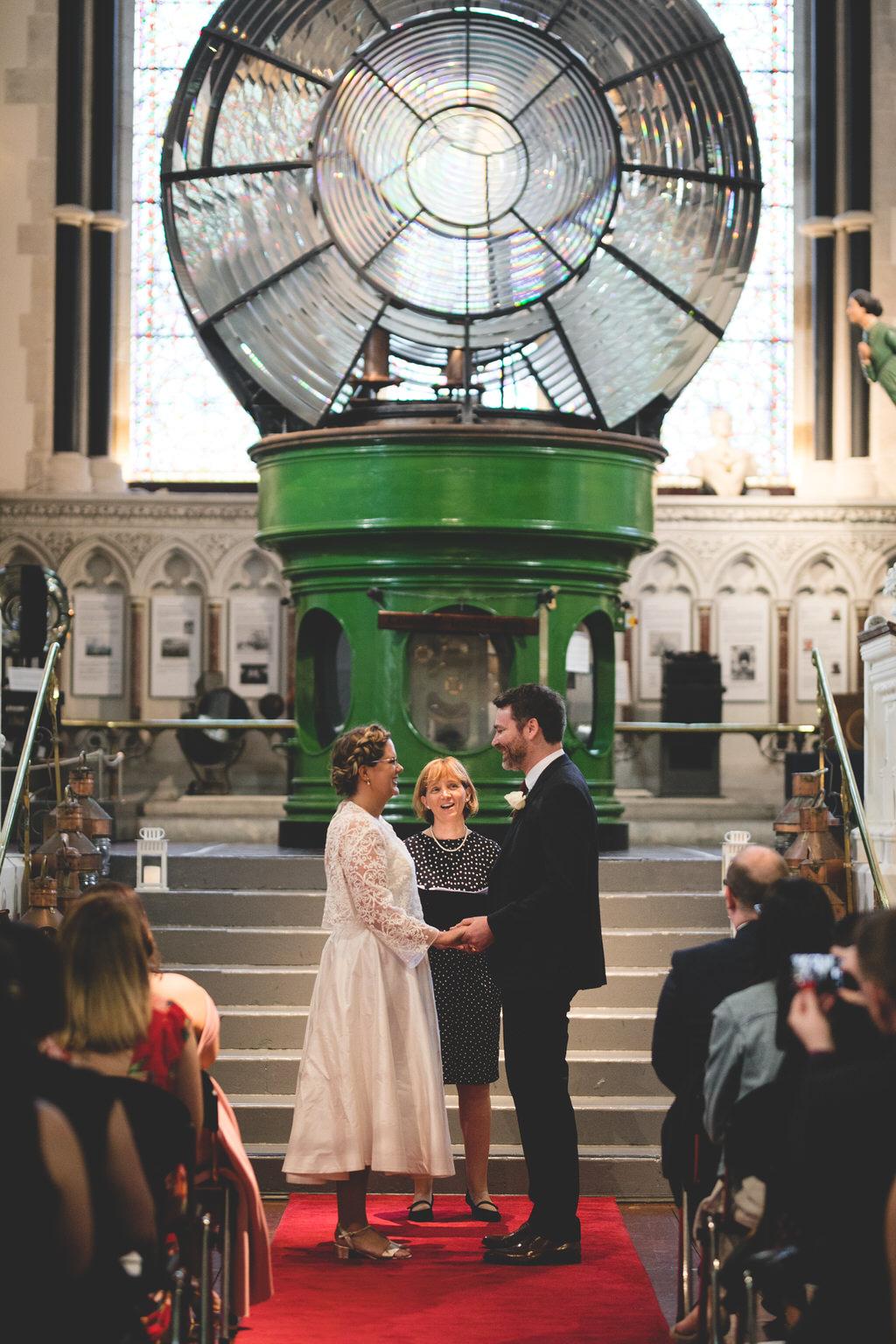 Cool, alternative wedding ceremony location