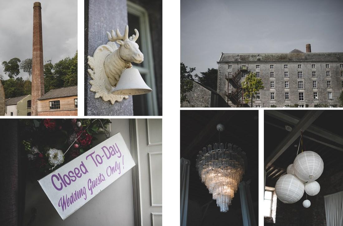 venue details at the Millhouse in Slane