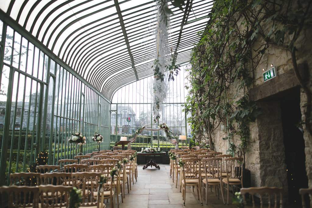 The conservatory at the Cliff at Lyons