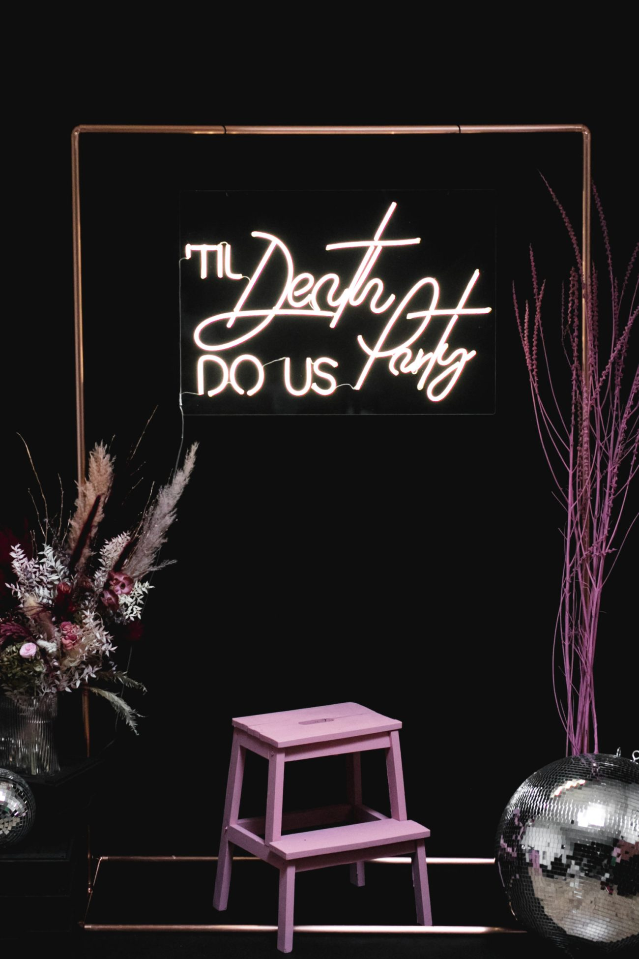 Till Death Do Us Party Neon to Hire/Rent in Dublin & Ireland