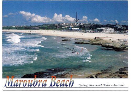 postcard AU