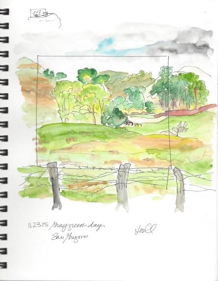 Field San Gregorio 11.23.15