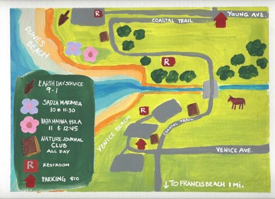 Dunes Beach event map