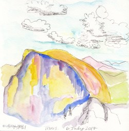 Backpacking Half Dome pastels-1