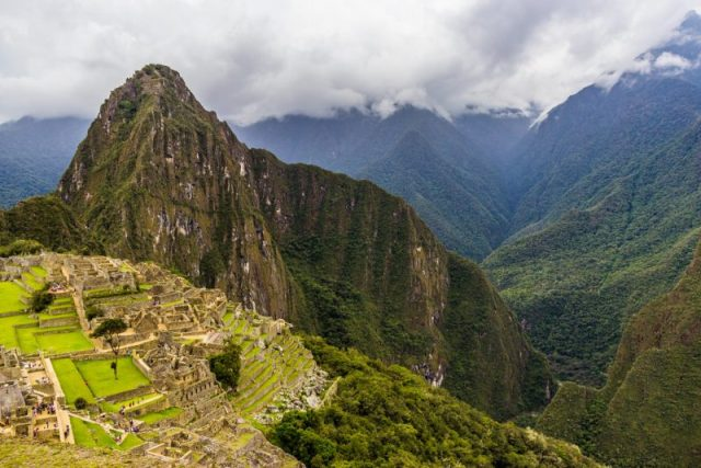 The spectacular Huayna Picchu