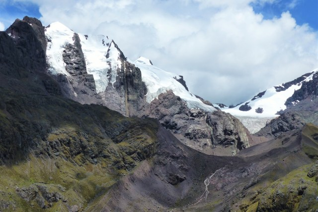 rainbow mountain glaciers