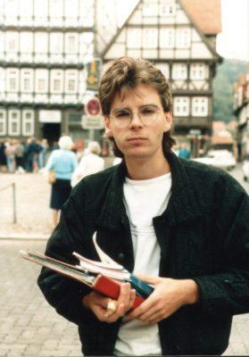 Fedor Waldschmidt 1986 beim Wildwechsel(n)