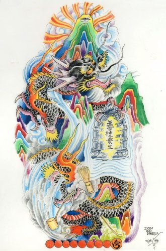 Mystic dragon_Mt. dwg