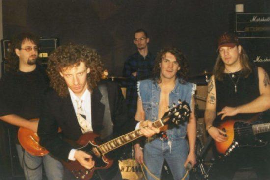 Eine der Bands auf dem Rhön Rock: FA/KE, die AC/DC Tribute-Band