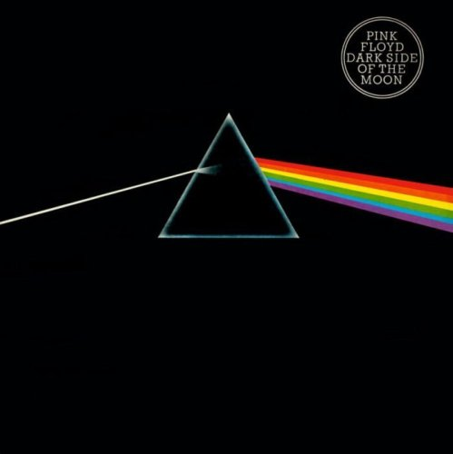 """The Dark Side of the Moon"", eines der bekanntesten Alben von Pink Floyd (EMI/Harvest Records)"