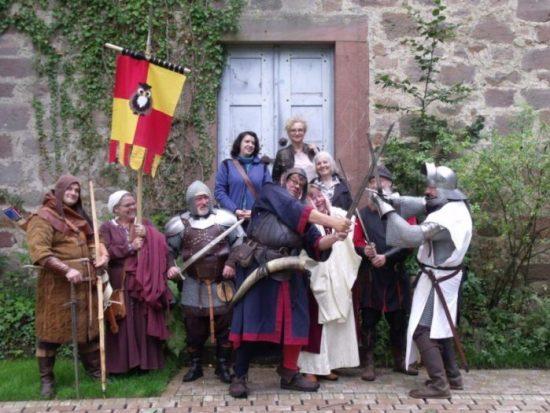 Kämpfe, Krüge und Kunst beim Mittelalterlichen Spectaculum im Tierpark Sababurg
