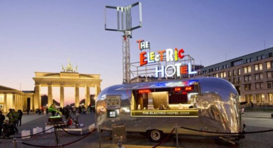 The Electric Hotel - Alternative Energien und Kommunikationsplattform