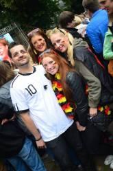 Public Viewing: Deutschland gegen Portugal in Paderborn