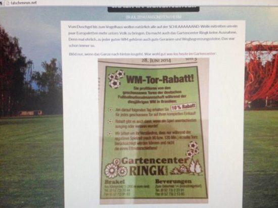 Gartencenter Ringk Anzeige