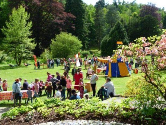 Folk im Park 2018: 23. Internationales Festival für Folk und Weltmusik in Bad Wildungen