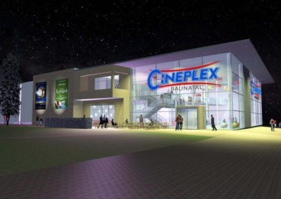 »Cineplex Kino + Kulturzentrum Baunatal« mit High Noon – Burger I Bar I Lounge