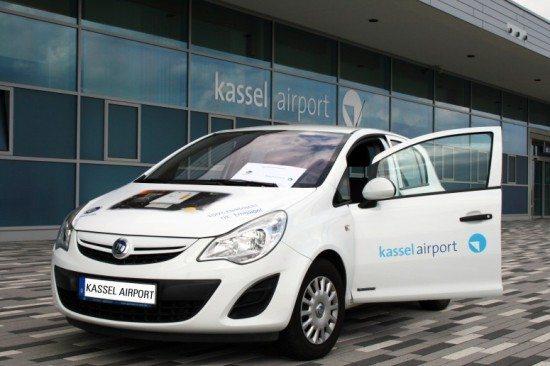Kassel Airport fährt seit heute mit Strom!