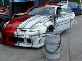 Ein getunter Nissan 350Z