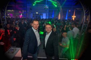 Geschäftsführer Peter Krusche und Verkaufsleiter Marcel Colmenero