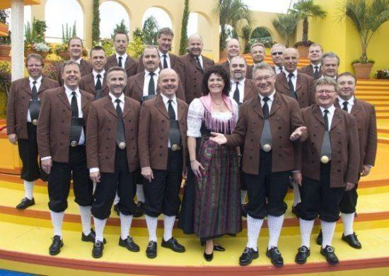 Die original Egerländer Musikanten beim Hessentag in Herborn