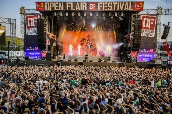 Open Flair Bühne 2015