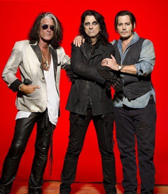 Hollywood Vampires (v. l.: Joe Perry, Alice Cooper, Johnny Depp) - Foto: Ross Halfin