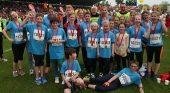 Die jungen Starter beim Mini-Marathon freuen sich immer riesig, dabei zu sein. Für 2016 sind Paten für die Übernahme der Startgebühren noch gerne gesehen