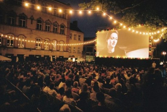 Das Open Air Kino in Kassel
