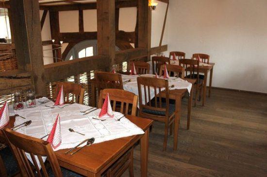 """Gemütliche Atmosphäre im Gasthaus """"Zum Thiergarten"""""""