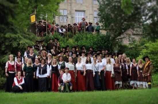 50jähriges Landsknechts-Jubiläum in Rhoden wird groß gefeiert
