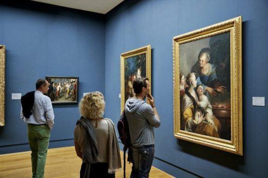 Junge Menschen – Alte Meister, anregende Kunstbetrachtung in der Gemäldegalerie Alte Meister in Schloss Wilhelmshöhe Fotograf: Sven Heine