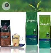 Fair gehandelter Kaffee, Kakao oder Tee