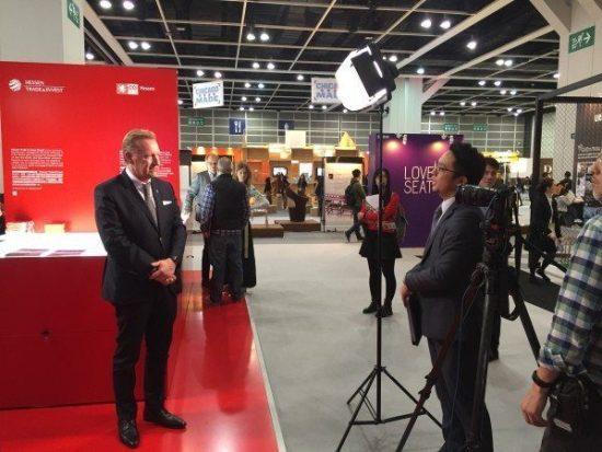 """""""Gewinner zusammenbringen"""" – Hessen auf der IDT EXPO in Hongkong"""