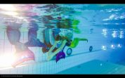 Meerjungfrauen-schwimmen im AquaPark am 28. und 29.12.2016