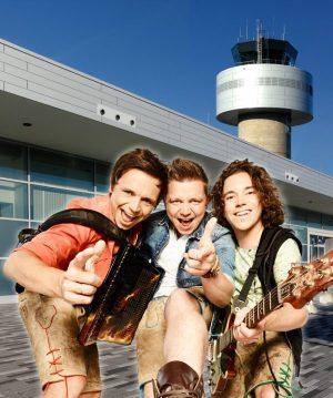 Die Dorfrocker bringen am 1. April das Terminal am Kassel Airport zum Abheben!