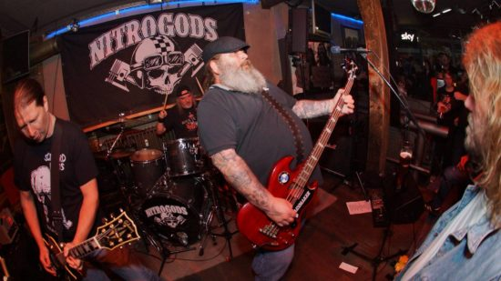 Let's Rock: Nitrogods & Woodrage in Joe's Garage in Kassel