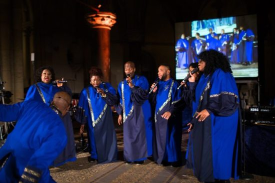 The Best of Black Gospel im Pädagogischen Zentrum in Warburg