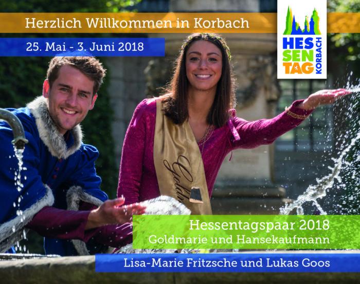 Sympathisch, bunt, goldrichtig - der Hessentag 2018 in Korbach