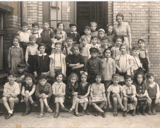 Jüdische Schulklasse in Breslau, 1938