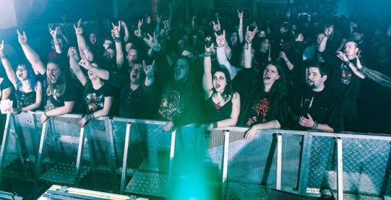 Metal Diver in Marsberg 2018: Horns up!