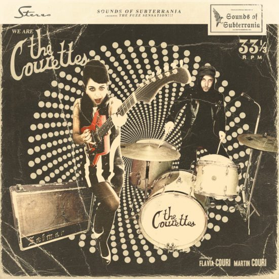 THE COURETTES - We are The Courettes (Sounds of Subterrania)