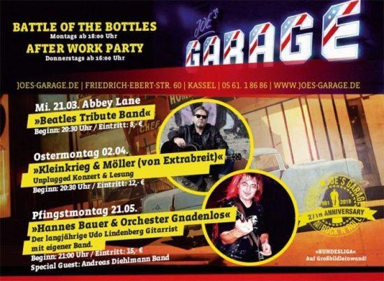 Abbey Lane: Beatles Tribute Band in Joe's Garage - Aus alt mach neu!